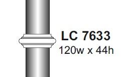 lc 7633 - 76mm diameter tube collar