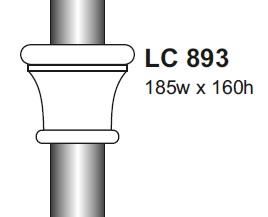 lc 893 column collar cast aluminium