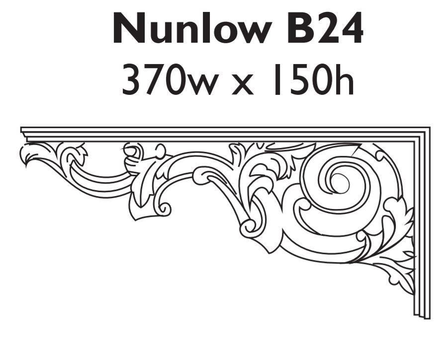 nunlow_b24_aluminium_spandrel_bracket
